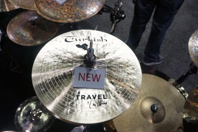 Chris Wabich Travel Series hi-hat from Turkish Cymbals.